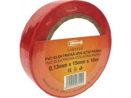 Elektropáska 15mm/10m červená