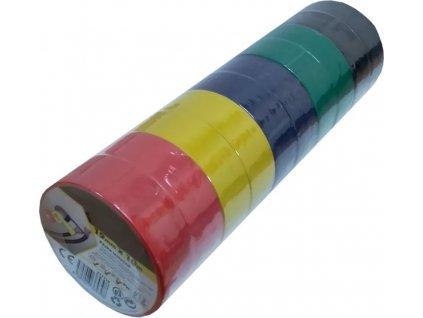 Izolační páska PVC 19x10m /balení 10ks/