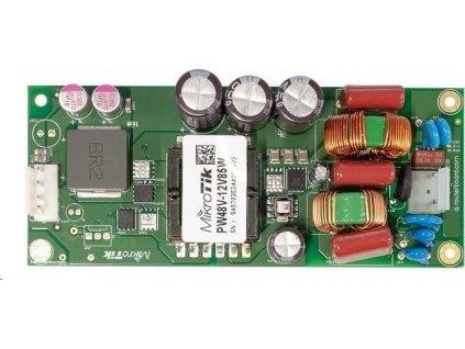 MikroTik PW48V-12V85W, napájecí zdroj 48V pro CCR s výstupem 12V 8A