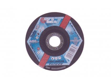 Kotouč řezný 125x1,6 -dvojí řez - OCEL, NEREZ, Ř/R