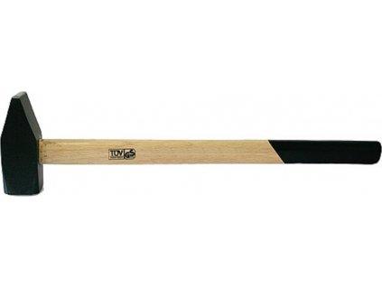 Kladivo s dřevěnou rukojetí 3kg/80cm