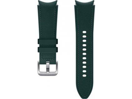Samsung Hybridní kožený řemínek (20 mm,S/M) Green
