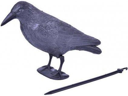 Odpuzovač ptáků Havran 38cm černý
