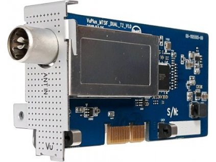Tuner pro VU+ MTSIF DVB-T2 Duál