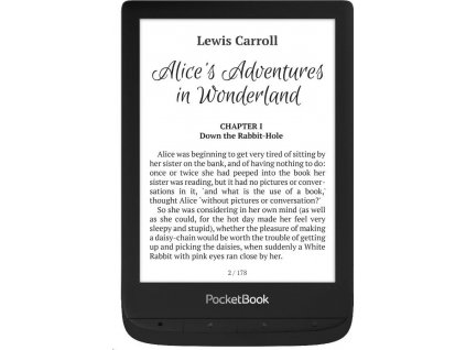 E-book POCKETBOOK 628 Touch Lux 5, Black