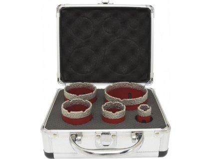 Diamantové vykružovače DCB11S5 Premium, M14 20, 35, 45, 55, 68mm
