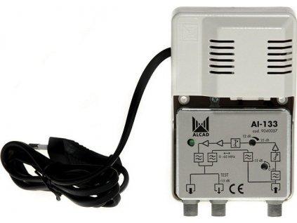 Alcad AI - 133 linkový zesilovač se 2 výstupy / G=24dB
