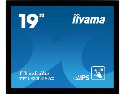 "iiyama ProLite TF1934MC-B7X - LED monitor - 19"" - open frame - dotykový displej - 1280 x 1024 - IPS - 350 cd/m2 - 1000:1 - 14 ms - HDMI, VGA, DisplayPort - černá"