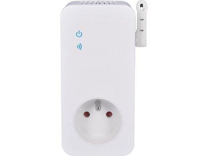 SOLIGHT DY10S Zásuvka přídavná s termostatem pro DY10GSM