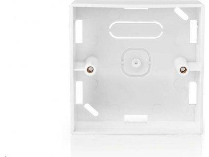 Back Box   Příslušenství pro: WIFIWC10WT / WIFIWS10WT / WIFIWS20WT   86 mm   86 mm   35 mm   Pro Povrchovou Montáž   Bílá
