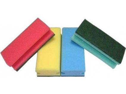 Houbičky na nádobí tvarované, 5ks - 9,5x7x4,5