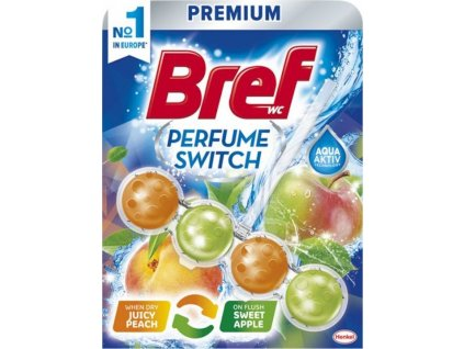 BREF WC blok Perfume Broskev&lilie 50g kuličky