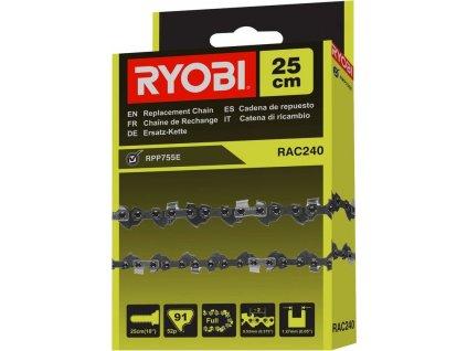 Řetěz Ryobi RAC240, 25cm