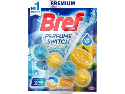 BREF WC blok Perfume Marine&citrus 50g kuličky