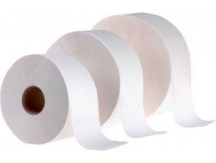 JUMBO - Toaletní papír, 19, 2V, celuloza, 65% bělo