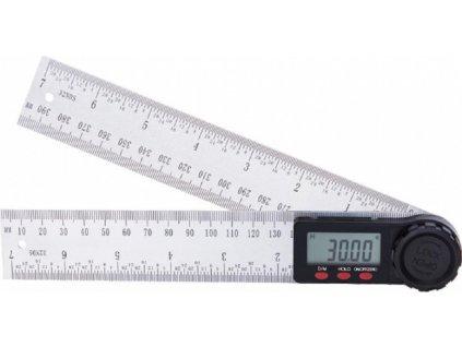 Digitální úhlové pravítko 2v1, 20cm