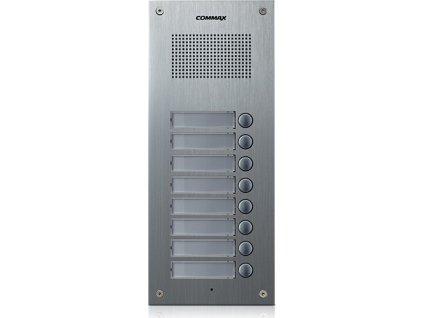 DR-8UM - dveřní stanice, audio + 8 tlačítek, 4+n