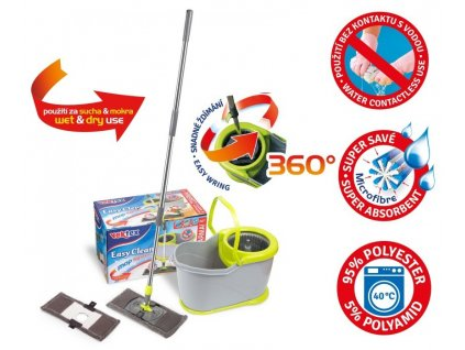 Vektex EASY clean mop system+ náhrada