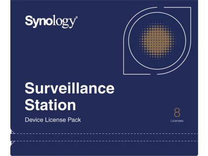Synology Surveillance Device License Pack - Licence - 8 cameras