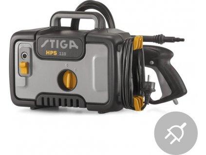 Elektrická vysokotlaká myčka HPS 110 Stiga, 1400W, 110bar