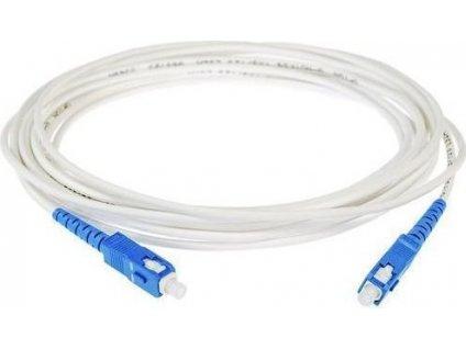 SC/UPC-SC/UPC FLEXI optický patch cord G.657B3 2mm 5m bílý simplex