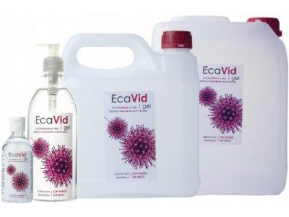 EcaVid Gel dezinfekce rukou a pokožky 5l