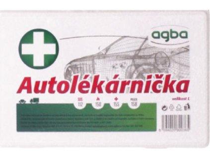 Autolékárnička-PLASTOVÁ 182/2011