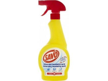 SAVO - Univerzální dezinfekce na povrchy, 500ml s