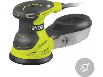 Elektrická excentrická bruska ROS310-SA20 Ryobi, vibrační, 310W, 125mm