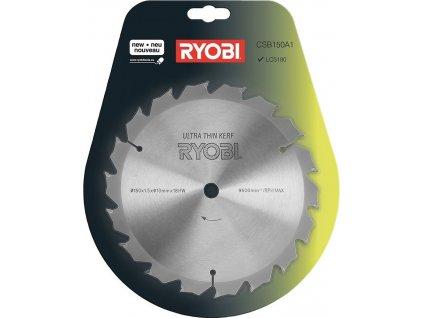Kotouč Ryobi CSB150A1 pro okružní pily, 150 mm, 18z