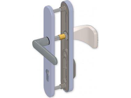 Trubička - ochrana vnějšího čtyřhranu