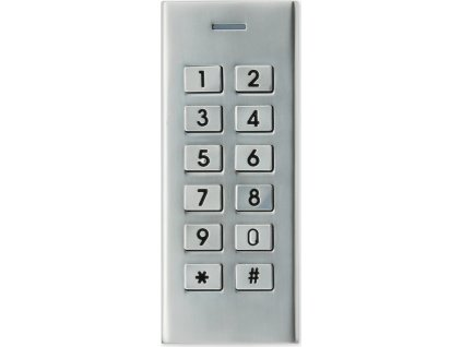 KM1-mini - kódová klávesnice OUTDOOR METAL