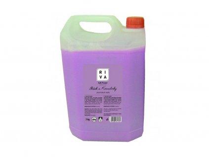 Tekuté mýdlo RIVA růžové 5l