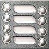 4FN 231 03.2 - modul 8 tlač. TT KARAT, 2-BUS, stříbr.