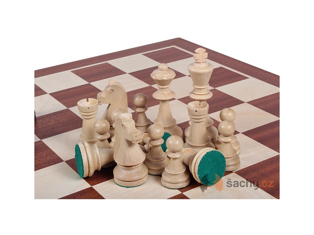 Šachové figurky Staunton č. 6