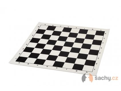 Koženková šachovnice černá 43 cm