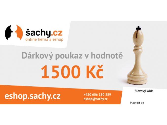 darkovy poukaz 1500