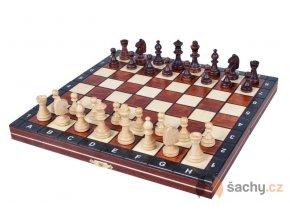 Magnetické cestovní šachy zelené
