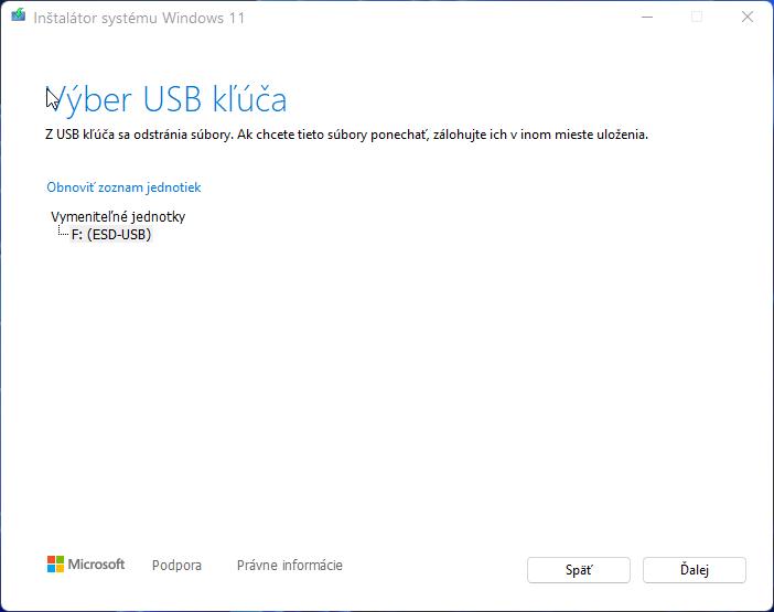 2021-10-05 15_09_29-Inštalátor systému Windows 11