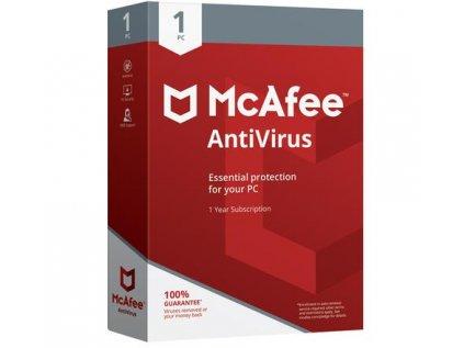 McAfee Antivirus 2020 1 Zariadenie 12 mes.