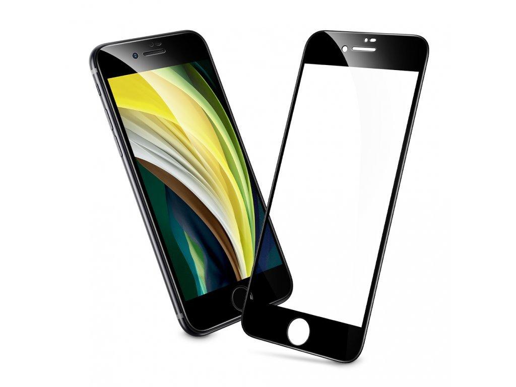29189 ochranne tvrzene sklo pro iphone 7 8 se 2020 esr screen shield 3d black