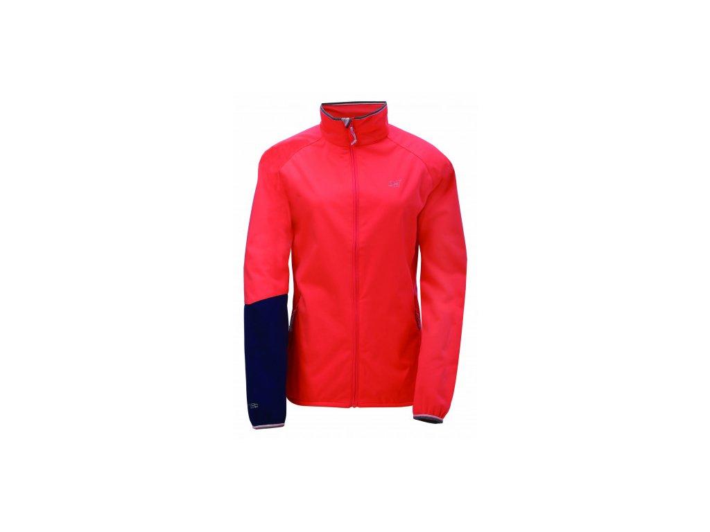 BETTNA - dámská softshell bunda, fiery pink