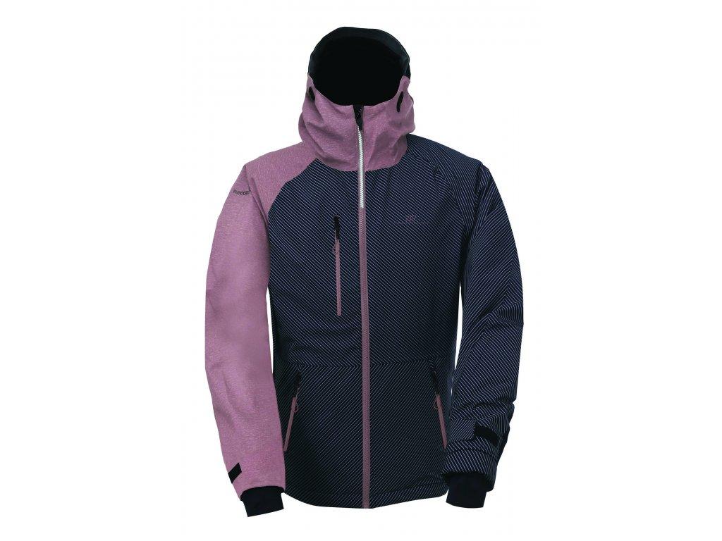 LANNA - ECO dámská 2L lyžařská bunda - aop