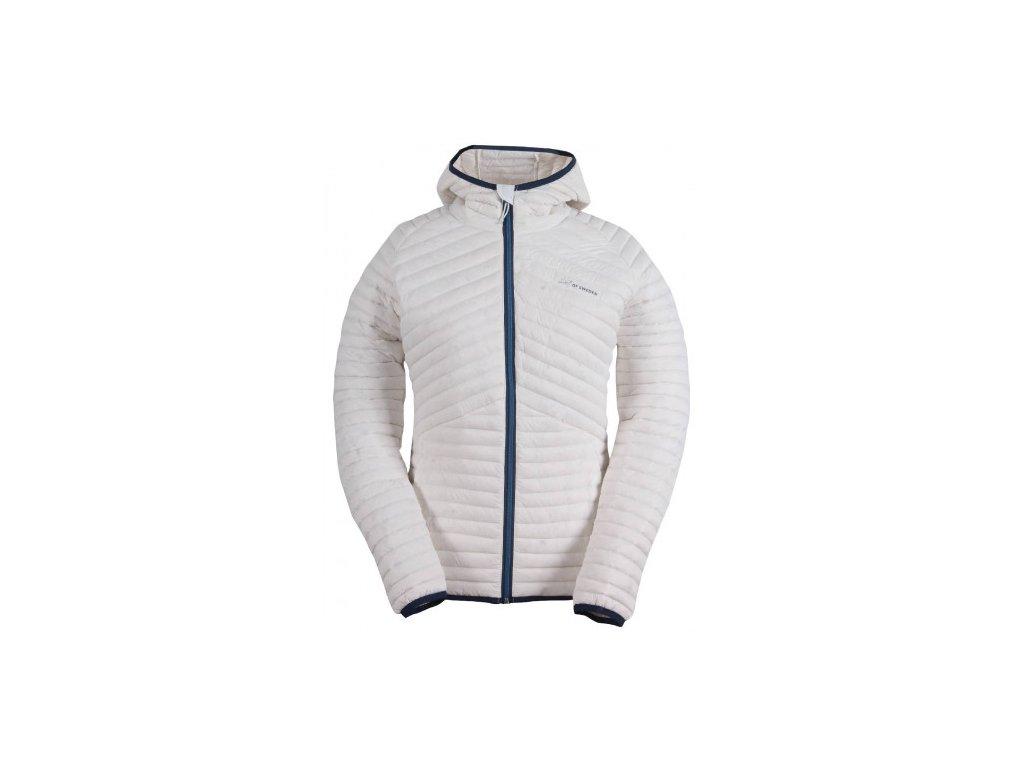 BRACCO - dámská péřová bunda - bílá