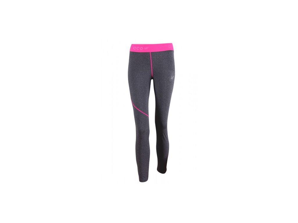 GRAN - ECO dámské kalhoty dl. (2.vrstva) - šedá melange