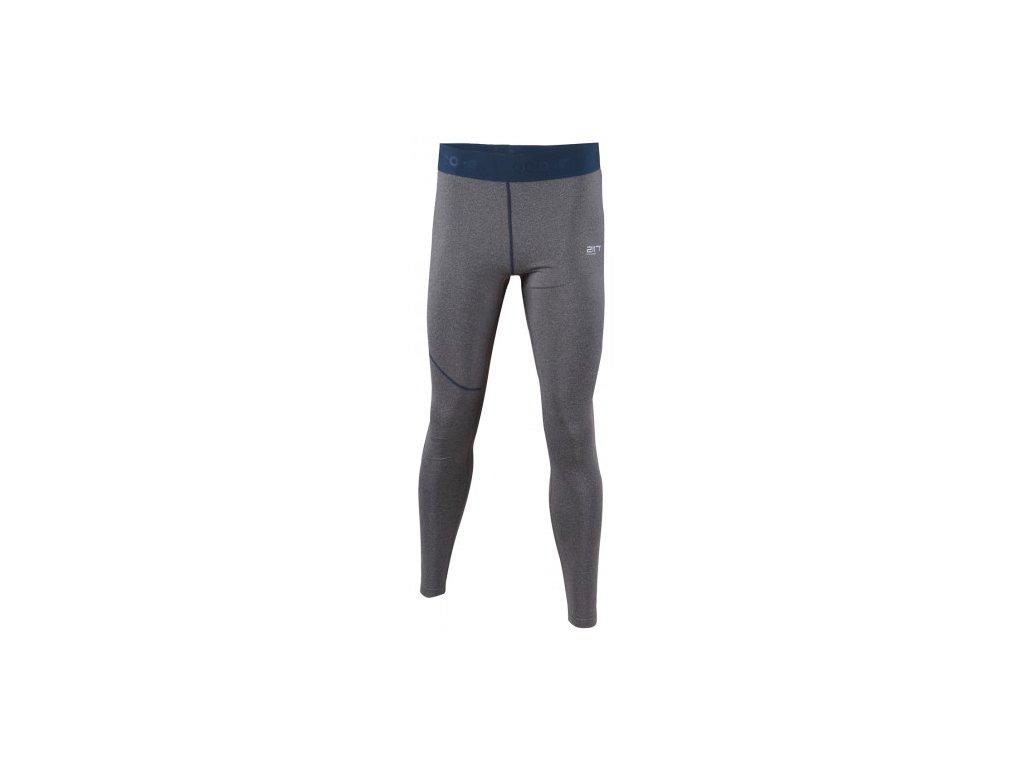 GRAN - ECO pánské kalhoty dl. (2.vrstva) - šedé melange