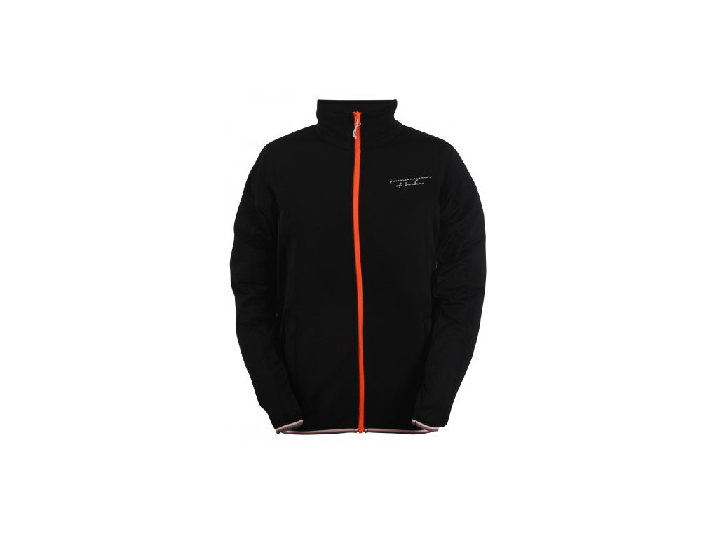 HAJSTORP - pánská bunda (powerfleece ) - černá