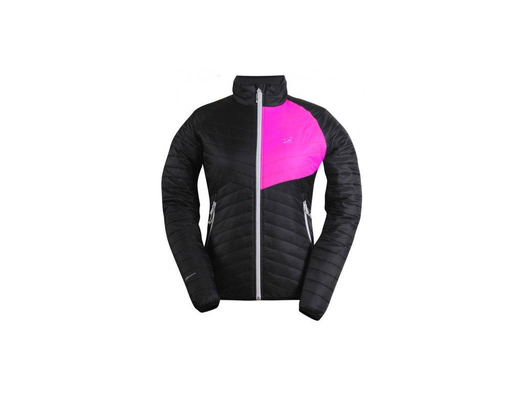 JÄKKVIK- dámská ECO izolační bunda - černá