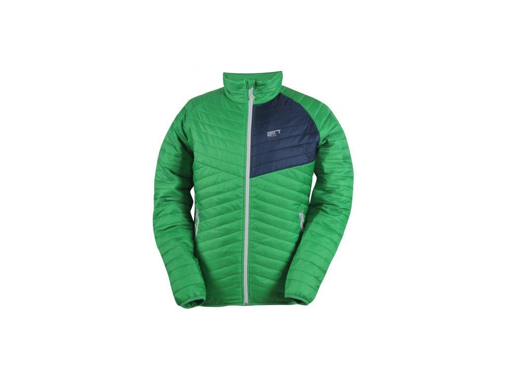 JÄKKVIK- pánská ECO izolační bunda - zelená