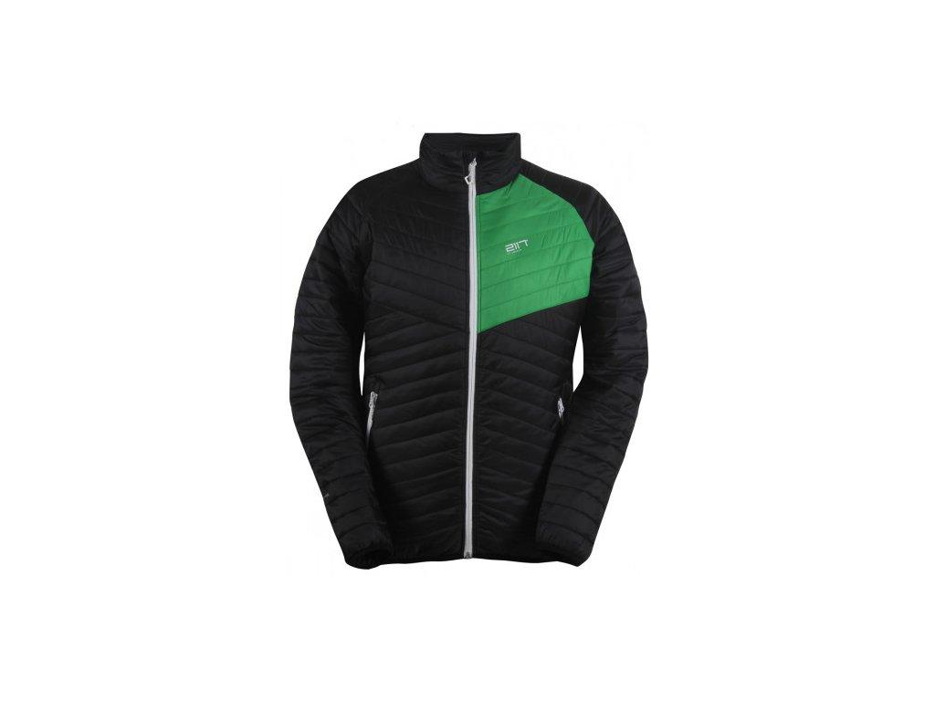 JÄKKVIK- pánská ECO izolační bunda - černá